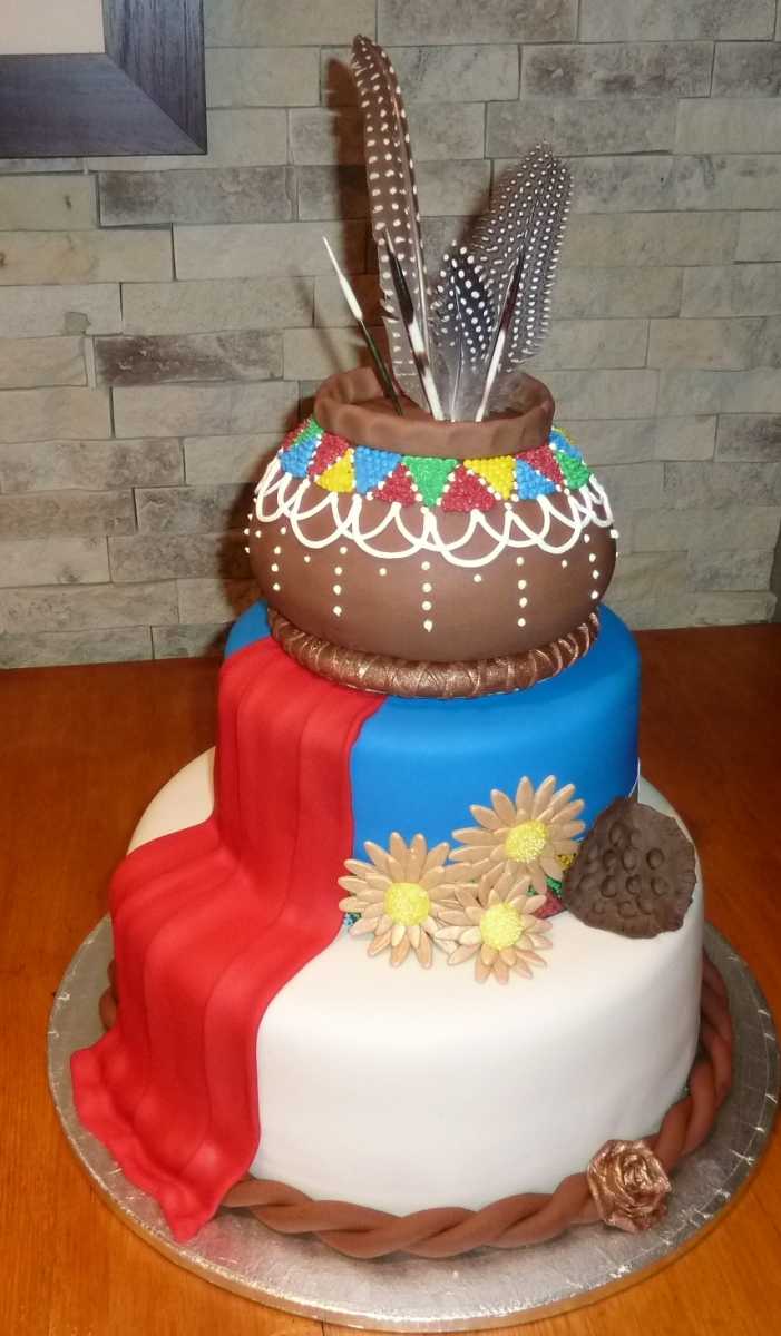 African Traditional Cake Designs