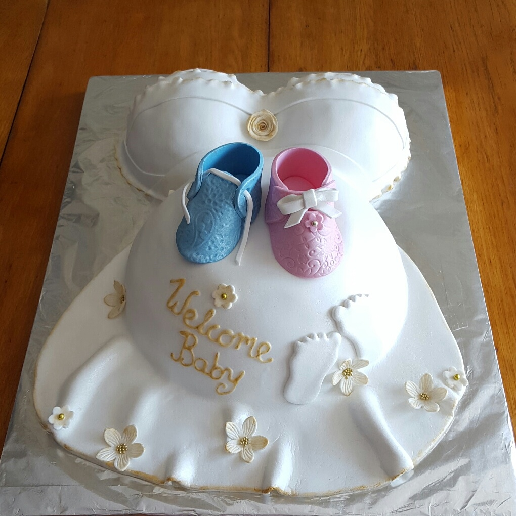 BABYSHOWER CAKES AND CUPCAKES